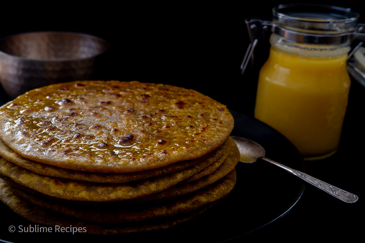 Puran Poli with 100% Whole Wheat